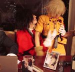 Alucard and Seras: KISS ME by Redustrial-Ruin