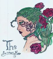 the summer rose in color by miharuyume