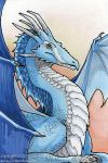 Blue Dragon by Nambroth