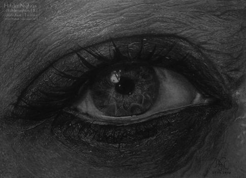 Traditinal Eye Drawing (3) by HildeNyhus