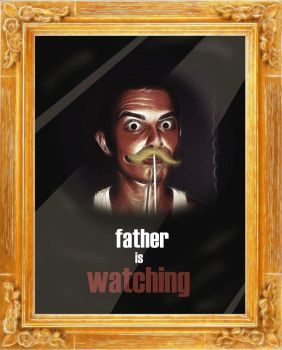 father is watching v4 by 1SonOfAtoms0