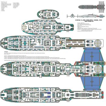 Cygnus Class Research Vessel. by Tollon