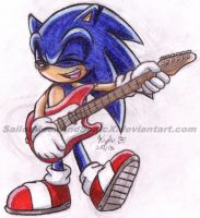 Rockin' Out by SailorMoonAndSonicX