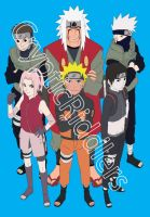 Naruto Team by CrypticRiddlers