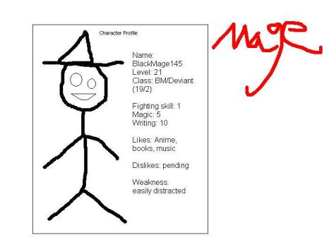 Mage profile 1 by BlackMage145
