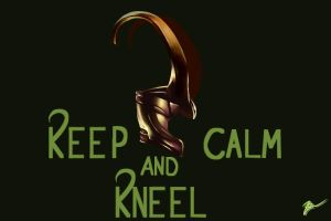 Keep Calm and Kneel by DevonCoon