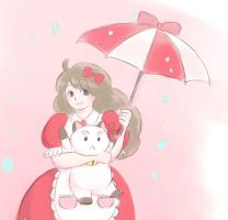 Bee and PuppyCat by goescat