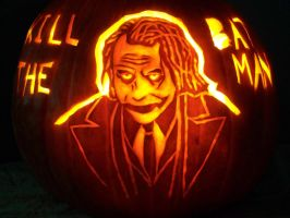 Joker pumpkin by YXZY
