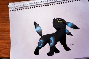 Shiny Umbreon by NChicaGFX