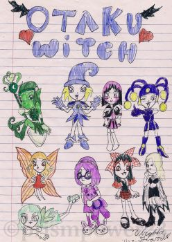 Otaku Witch (old,2004) by prismpower23