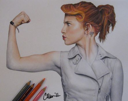 Hayley Williams - Drawing by Live4ArtInLA