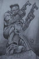 Halo - Master Chief by detrious