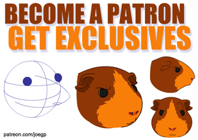 Become a Patron, Get Exclusives by JoeGPcom