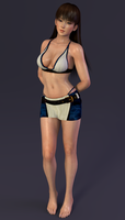 Lei Fang Hot Getaway Render 11-2 by Dizzy-XD