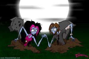 Night of the Loving Dead by thezombified