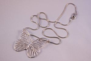 Butterfly pendant by roofoo