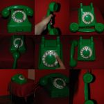 Old telephone stock pack by LunarStocks