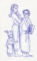 The Baudelaires Four by kuabci