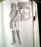 Lucille Character Sketch by FallenAngelV
