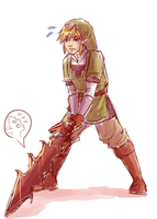 loz -- sword au by Raven-igma