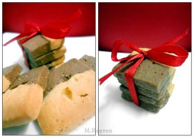 Christmas butter cookies by vungoclam