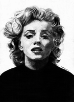 Done Marilyn Monroe by Mapos