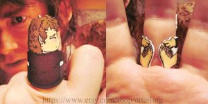 Bilbo Baggins ring by otterling