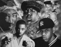 5 Greatest Rappers by TimShady1