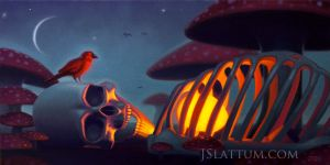 Amanita Dreams by jslattum