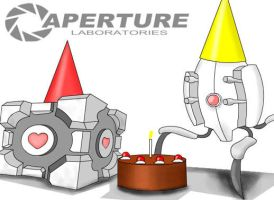 Aperture Science Party by TAddict