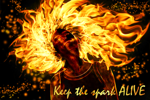 Keep the spark ALIVE by The-Hybrid-Mobian