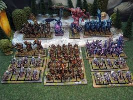 My Warriors of Chaos Army by Wideen