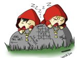 Sleeping acolytes by ceressiass