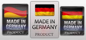 Made in Germany Logo - Different Variations by DjabyTown