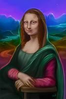 Mona Lisa Frank by greendesire