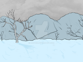 Dead Snow Mountains by A-Ryder