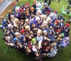 Fire Emblem Cosplay Gathering at Anime Los Angeles by Apohermion