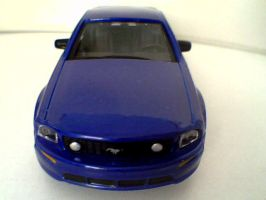 BB - Ford Mustang GT Front by AxelSilverwolf