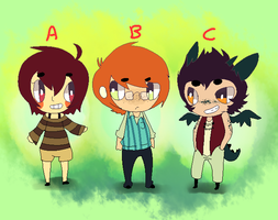 Character Design Point Adopts 1 CLOSED by 3o2