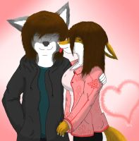 A Furry Couple by FoxRaver