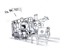 Thomas and Roise pairing? by trainboy656