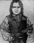 Rumplestiltskin and his dagger by cherrybomb10