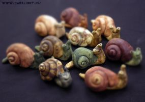 snails by DarkMask