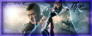 Captain America and Thor RP cover by sexysammy27