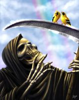 Death and friends by Emortal982