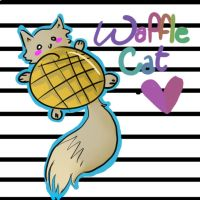 WAFFLE CAT THE GREAT by strangetail