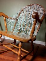 Large Scale Paper Cut _Rocking Chair_ by OftenSaid