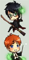 Harry Potter Chibi by ichan-desu