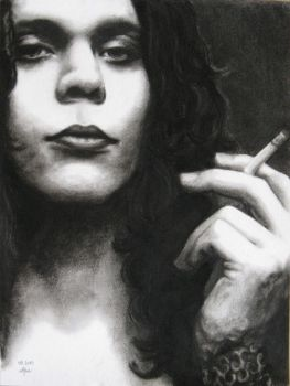 Ville with cigarette by LochaSnejpa