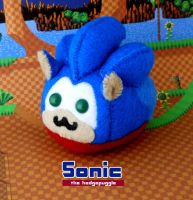 Sonic the Hedgepuggle by callykarishokka